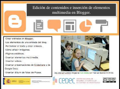 Nueva ficha del Catálogo TIC: Tu Edublog en Blogger : Aulablog21 | Formación 2.0 | Scoop.it