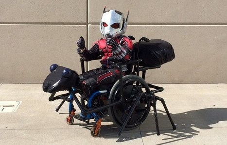 This Adorable Ant-Man Cosplay Is The Coolest Thing You'll See Today | WTF Posts | Scoop.it