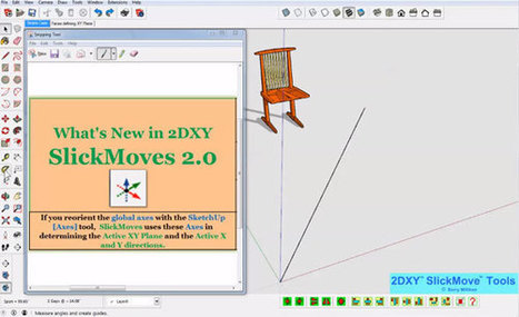 2DXY SlickMoves (2.0.0) for Sketchup | Updates on 3D modeling world | Scoop.it