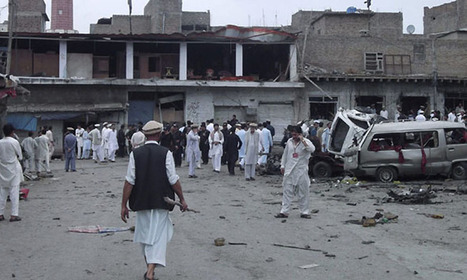 Two dead, five injured in roadside blast near Parachinar school van - DAWN.com | parachinarvoice | Scoop.it