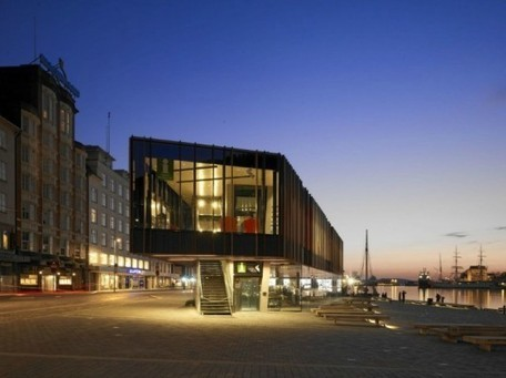 Stunning Modern Building Breathes New Life Into Bergen's Historic Fish Market | sustainable architecture | Scoop.it
