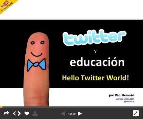 Twitter en el Aula - Definiciones y Propuestas Didácticas | Presentación | Educacion, ecologia y TIC | Scoop.it