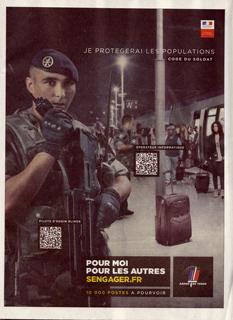 L'armée française utilise les QR codes dans sa campagne de recrutement | QR code experience | Scoop.it