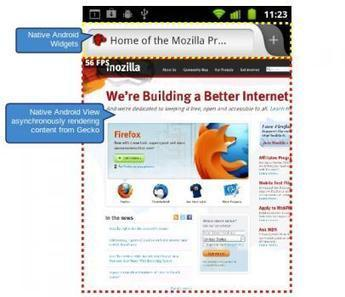 Firefox natif pour Android commence officiellement sa carrière - PC Inpact | Firefox | Scoop.it