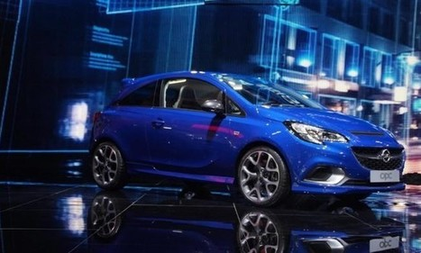Opel Brings the 2015 Corsa OPC to Geneva - SpeedLux | Technology | Scoop.it