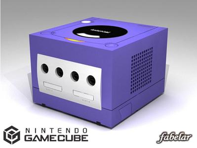 Console Nintendo Gamecube 3D | 3D Library | Scoop.it