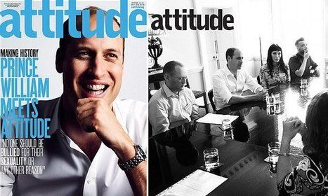 Prince William becomes first royal to be cover star of gay magazine | Gay Global (LGBT) | Scoop.it