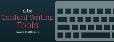 The Best Content Writing Tools (You're welcome, writers!)   thriveideas   Scoop.it