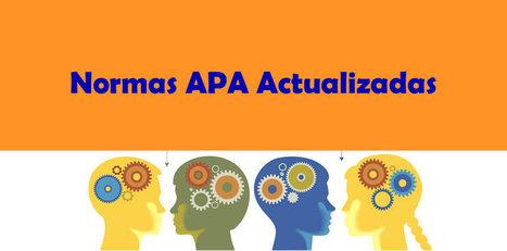 Manual de Normas APA Acutualizado - Convocatorias y becas | Educacion, ecologia y TIC | desdeelpasillo | Scoop.it