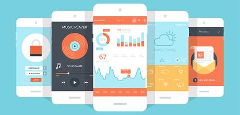 10 tendances design d'applications mobile (1/2) - Je bosse dans le web | Webdesign | Scoop.it