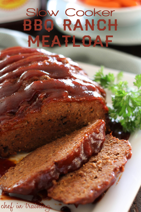Slow Cooker BBQ Ranch Meatloaf | chef in training | The Slow Cooker Recipe Blog | Scoop.it
