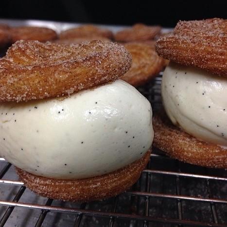 LA-based Dessert Company is Serving a Churro Ice Cream Sandwich, and it ... - FOODBEAST | Restaurant | Scoop.it