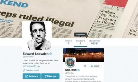 Edward Snowden ya tiene cuenta de Twitter, y solo sigue a NSA | Comunicación 360º. Comunicating Today | Scoop.it