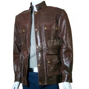 Curious case of banjamin button brown leather jacket   Men's Leather Jackets   Scoop.it