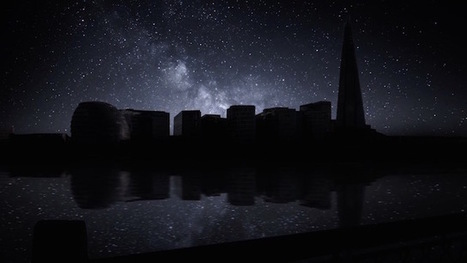Blackout Time-Lapse: This is What the London Skyline Would Look Like if You Could See the Milky Way   Photography News Journal   Scoop.it
