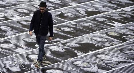 AMIENS Faites partie des 500 portraits collés à la gare - Courrier Picard | art move | Scoop.it