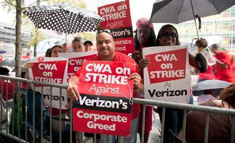Unionized Verizon workers push iPhone boycott | Labor and Employee Relations | Scoop.it