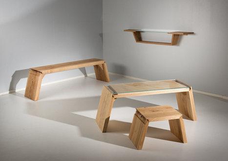 Broken: furniture that explores the defects in wood | D_sign | Scoop.it