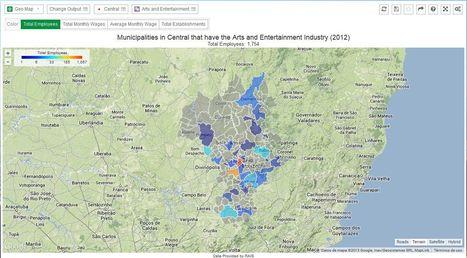 Brazilian state Open data visualization tool – DataViva | TIG | Scoop.it