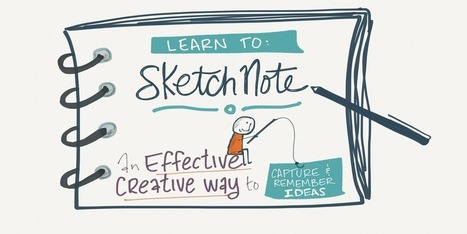 Unlock your visual thinking skills - Sketchnoting 101 | Graphic Coaching | Scoop.it
