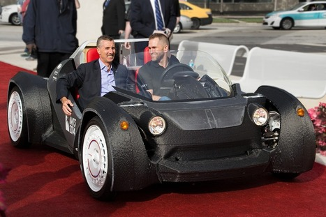 This Drivable Car Was Just 3D Printed In 44 Hours [video] | Innovation Projects | Scoop.it
