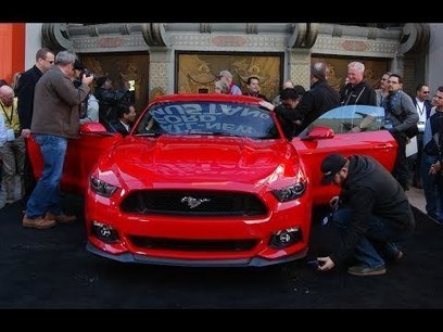 Watch the all new 2015 Ford Mustang GT Debut in Lo   The Pit Boss   Scoop.it