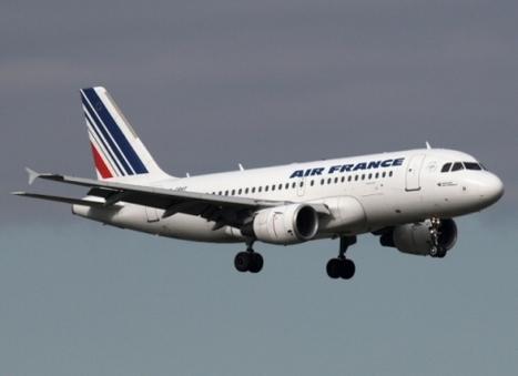 Un avion de Air France vole et se pose avec un pneu crevé | AF | Scoop.it