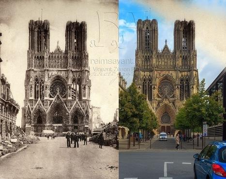 Collectif Reims Avant : Vivez la ville de Reims deux &eacute;poques &agrave; la fois...<br/>retrouvez le Reims de vos anc&ecirc;tres et d&eacute;couvrez les transformations de la ville   Nos Racines   Scoop.it