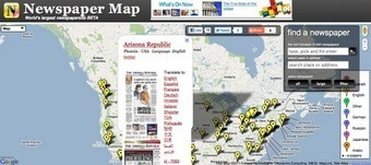 Free Technology for Teachers: 10,000 Newspapers On Google Maps | Edtech PK-12 | Scoop.it
