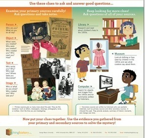 My Mommy Reads - An infographic for primary and secondary... | Facebook | Using Primary Sources in the Social Studies Classroom | Scoop.it