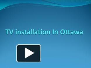 TV installation  in Ottawa | Home Theatre Installation Ottawa | Scoop.it