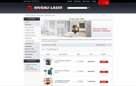 Niveau laser | Niveau laser, outil laser professionnel | Scoop.it