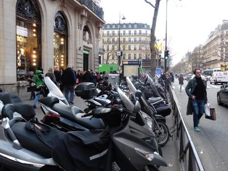 Comment Paris espère devenir la capitale de la moto | FNAUT Pays de la Loire | Scoop.it