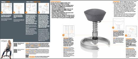 Vous avez acheté un siège ergonomique Swopper ?  Assemblez le simplement !   Swopper, pour s'asseoir autrement   Scoop.it