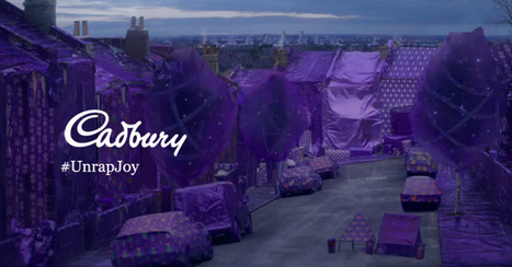 Cadbury emballe tout un quartier de Londres avec du papier cadeaux | streetmarketing | Scoop.it