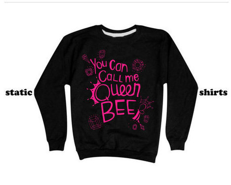 Lorde Royals Sweatshirt   You Can Call Me Queen Bee Sweater PINK PRINT   T-Shirt   Scoop.it