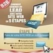 Infographie : Générer du lead avec un site internet en 5 points | SEO - Digital Marketing | Scoop.it