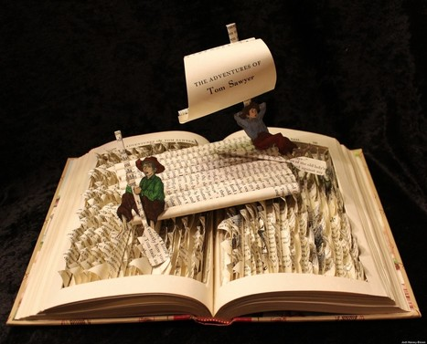 A Novel Idea: Beautiful Sculptures Made From Books | Art and Poetry and such | Scoop.it