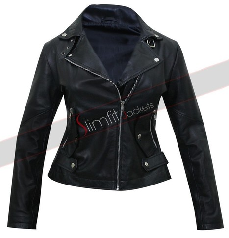 Unforgettable Poppy Montgomery Jacket | Motorcycle Leather Jackets For Men and Women | Scoop.it