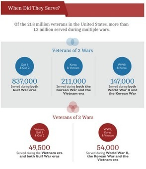 Innovation Design In Education - ASIDE: Veterans Day - Infographics About Those Who Serve | Design in Education | Scoop.it