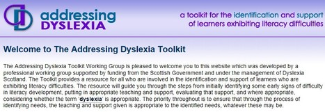 Addressing Dyslexia   Inclusive teaching and learning   Scoop.it