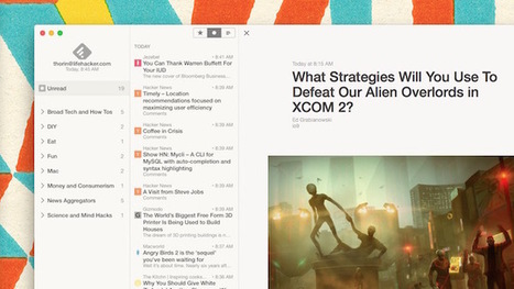 Reeder 3 Adds Updated UI, More Themes, and More | MioBook...eReader! | Scoop.it