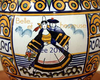 Quimper, faïence, artistes etc.: Meilleurs voeux ! | bretagnequimperle | Scoop.it