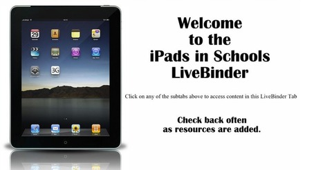 iPads in Schools - LiveBinder UPDATED | threevee has class | Scoop.it
