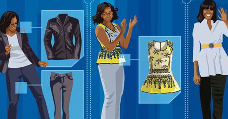 First-Lady Fashion | Infographics | Scoop.it