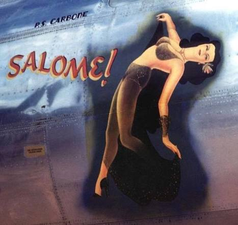 Flying Girls: A Compendium of WW2 Airplane Pin-Ups   Outbreaks of Futurity   Scoop.it