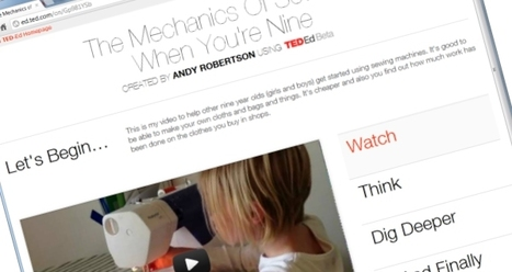 Daughter Tests TED-Ed, Falls in Love With Learning | E-Learning and Online Teaching | Scoop.it