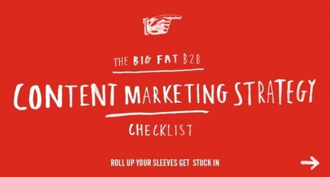 B2B Content Marketing Strategy Checklist | Content Creation, Curation, Management | Scoop.it