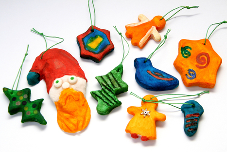 How to Make Christmas Ornaments with Dough | Christmas Decorations | Scoop.it