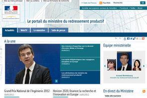 Le nouveau site du redressement productif est en ligne - L'Usine Nouvelle   Gauche2012   Scoop.it